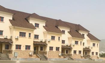 Luxury 4 Bedroom Terraced Duplex with a Room Bq, Katampe Extension, Katampe, Abuja, Terraced Duplex for Rent
