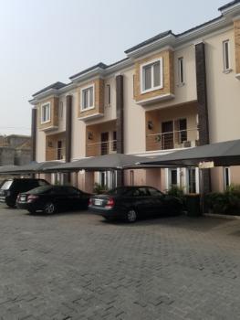 Serviced 4 Bed Terrace Duplex with a Bq, Osapa, Osapa, Lekki, Lagos, Terraced Duplex for Rent