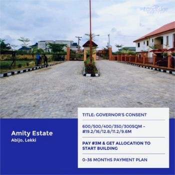 Land, Amity Estate, Abijo, Lekki, Lagos, Residential Land for Sale