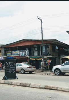 Upstairs with C of O, Cemetery Road Near Warri Garage, Warri, Delta, Shop for Sale