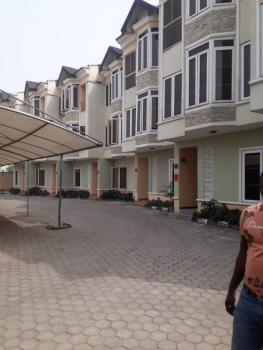 a Tastefully Finished 4 Bedroom Terrace on 3 Floors, Onike, Yaba, Lagos, Terraced Duplex for Rent