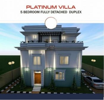 5 Bedroom Fully Detached Duplex with Bq, Airport Road, Jabi, Abuja, Detached Duplex for Sale