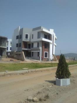 4 Bd Hexagon Courtyard Luxury Triplex with a Guest, Kafe District, Life Camp, Gwarinpa, Abuja, Semi-detached Duplex for Sale
