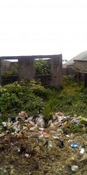 a Plot of Land with an Uncompleted Building, Magboro, Ogun, Residential Land for Sale