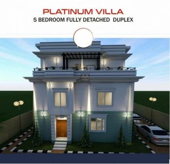 5 Bedroom Fully Detached with Bq. with 24 Months Flexible Payment, Jabi Airport Road. Prime Location in Abuja., Jabi, Abuja, Detached Duplex for Sale