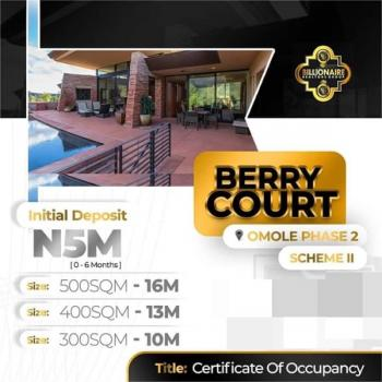 Berry Court, 5 Mins Drive From Dangote Refinery, Ibeju Lekki, Lagos, Mixed-use Land for Sale