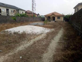 Land Measuring Over 680 Square Metres with 3 Bedroom Bungalow, Toyin Ebenezer Street, Sangotedo, Ajah, Lagos, Land for Sale