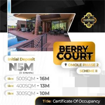 Berry Court, 5 Mins Drive From Ikeja City Mall, Omole Phase 2, Ikeja, Lagos, Residential Land for Sale