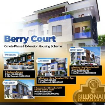 Housing Scheme Duplexes, Omole Phase 2, Ikeja, Lagos, Terraced Duplex for Sale