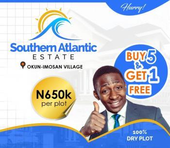 Affordable Plots of Land, Southern Atlantic Estate, Imosan Community, Lekki Free Trade Zone, Lekki, Lagos, Residential Land for Sale