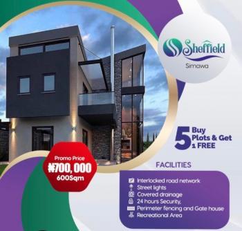 Estate Land.  Buy 5 Get 1 Free, Off Sagamu Road, Simawa, Ogun, Residential Land for Sale