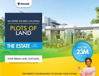 The Estate By Pennek, Abraham Adesanya, Ajah, Lagos, Residential Land for Sale