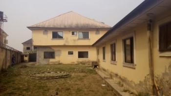 an Old Storey Building & a Bungalow on 912sqm Land, Olive Park Estate, Sangotedo, Ajah, Lagos, Detached Duplex for Sale