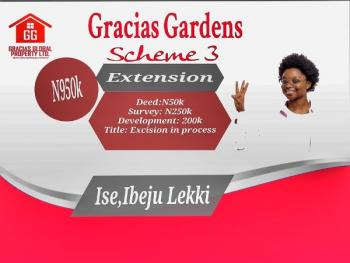 Gracias Garden, Ikegun, Ibeju Lekki, Lagos, Mixed-use Land for Sale