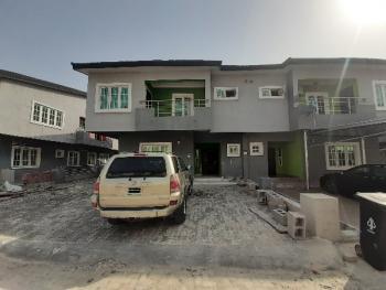 4 Bedroom Duplex with a Bq in a Serviced Estate, Lekki Phase 2, Lekki, Lagos, Semi-detached Duplex for Rent