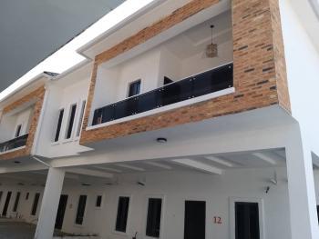 Brand New 4 Bedroom Town Houses +bq, Orchid Rd, Lafiaji, Lekki, Lagos, Terraced Duplex for Sale