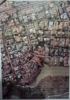 2000sqm Waterfront Plot 3168, Low Density, R of O, Clement Isong, Asokoro District, Abuja, Residential Land for Sale