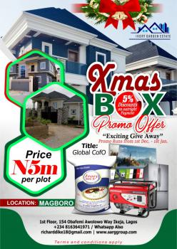 Instant Allocation After Payment  with C of O, Ivory Garden Estate, Makogi, Magboro, Ogun, Residential Land for Sale