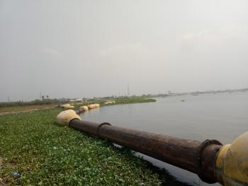 Water Front Estate Land Develop Area, Amah 7 Minutes Away From Chevron, Badore, Ajah, Lagos, Residential Land for Sale