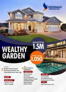 Estate Land, 15 Minutes Before Dangote Refinery, Eleko, Ibeju Lekki, Lagos, Residential Land for Sale