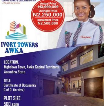 Esate Land, Ugbakwu Town, Awka, Anambra, Residential Land for Sale