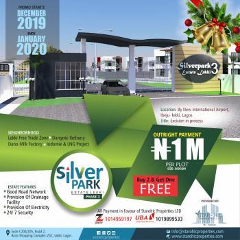 Esate Land, Dangote Refinery, Eleko, Ibeju Lekki, Lagos, Residential Land for Sale