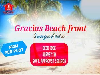 Hotttet Luxury Waterfront Plots, Gracias Beach Front Estate, Sangotedo, Ajah, Lagos, Residential Land for Sale