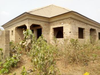 Luxury Uncompleted 4 Bedroom Bungalow with 2 Bedroom Flat Bq, Amoje Area, Near Ayegun-oleyo Off Ashipa Road Akala Express, Ibadan, Oyo, Detached Bungalow for Sale