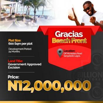 Gracias Beach Front, Sangotedo, Ajah, Lagos, Residential Land for Sale