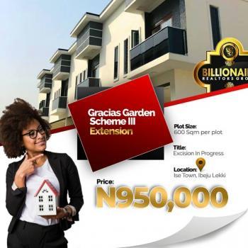 Gracias Gardens Scheme 3 Extension, Akodo Ise, Ibeju Lekki, Lagos, Residential Land for Sale