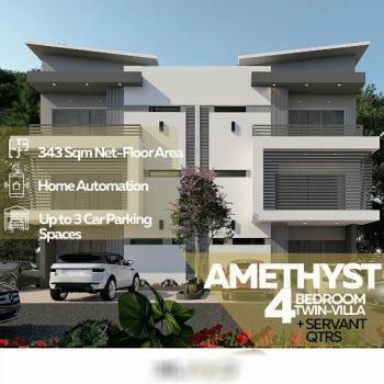 4 Bedroom Twin-villa Plus Servants Quarters, Jabi, Abuja, Semi-detached Duplex for Sale