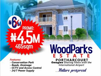 Estate Land Near Airport, Woodparks Estates Near Airport, Omagwa, Port Harcourt, Rivers, Residential Land for Sale