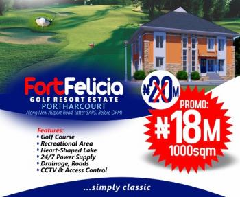Estate Land, 1000sqm, Along New Airport Road Fort Felicia Estate, Port Harcourt, Rivers, Mixed-use Land for Sale