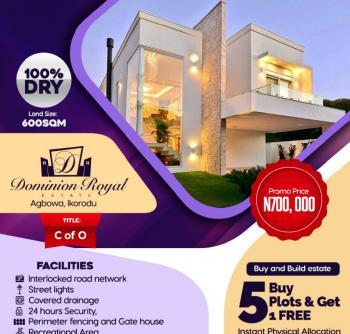 Estate Land, Odo-onosa, Agbowa, Ikorodu, Lagos, Residential Land for Sale