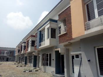 24 Hours Power Supply 4 Bedroom Terrace Duplex, By Abraham Adesanya Road, Ogombo, Ajah, Lagos, Terraced Duplex for Rent