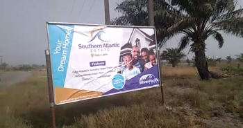 Southern Atlantic Villas: Brand New Estate. 100% Dry Land, Fastest Developing and Selling Estate in New Lagos. Instant Allocation, Ibeju Lekki, Lagos, Mixed-use Land for Sale