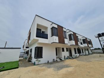 Luxury 3 Bedroom Terrace Duplex with Bq in an Estate, Abraham Adesanya Roundabout, Lekki Phase 2, Lekki, Lagos, Terraced Duplex for Sale