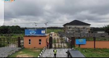 Estate Land with Sea View, Sharing Fenced with Lekki Free Trade Zone Facing The Road B4 Refinery, Sangotedo, Ajah, Lagos, Residential Land for Sale