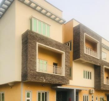 Exquisite New 4 Bedroom Terraced Duplex with a Room Boys Quarter, Guzape District, Abuja, Terraced Duplex for Rent
