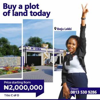Dry Land with a Genuine Title at Ibeju Lekki, Wazobia Court Estate, Ikegun, Ibeju Lekki, Lagos, Residential Land for Sale