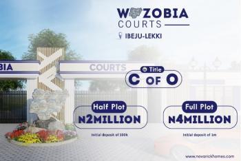 Genuine Title (c of O), Bolorunpelu ,ibeju-lekki ,wazobia Courts, Ikegun, Ibeju Lekki, Lagos, Residential Land for Sale