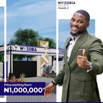 100% Dry Land at Wazobia Courts Phase 2, Wazobia Courts Phase 2, Ikegun, Ibeju Lekki, Lagos, Residential Land for Sale