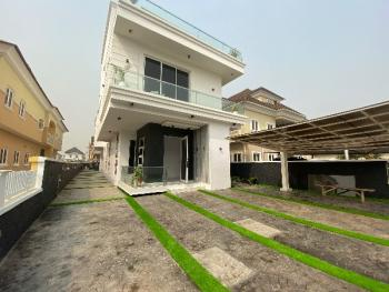 Newly Built 5bedroom Contemporary Duplex, Secured Estate with 24 Hour Power Supply, Osapa, Lekki, Lagos, Detached Duplex for Sale