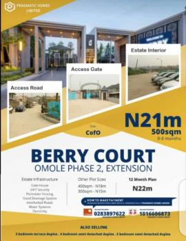Berry Court, Omole Phase 2, 5 Mins Drive From Shoprite, Omole Phase 2, Ikeja, Lagos, Mixed-use Land for Sale