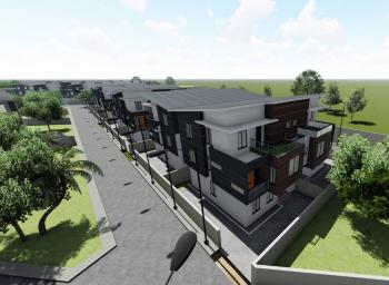 Off Plans Luxury 4bedroom Semi-detached Duplex with a Gym, Berry Court Apartments, Omole Phase 2 Extension, Off Plans, Omole Phase 2, Ikeja, Lagos, Semi-detached Duplex for Sale
