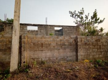 Fully Fenced Plot of Land with Uncompleted Structure at Lintel Level, Temidire Estate, Off Ologuneru Road, Eleyele, Ibadan, Oyo, Mixed-use Land for Sale