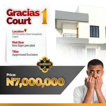Prime Estate Land - Gracias Court, Off Monastery Road By Shoprite., Sangotedo, Ajah, Lagos, Residential Land for Sale
