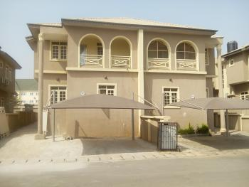 a Tastefully Finished Serviced 4 Bedroom Semi-detached Duplex with Bq, Jahi District, Jahi, Abuja, Semi-detached Duplex for Rent