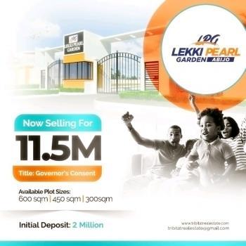 Estate Land, Lekki Pearl Gardens., Abijo, Lekki, Lagos, Residential Land for Sale