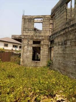 Uncompleted 6 Bedroom Duplex, Urua Udofia Str, Uyo, Akwa Ibom, House for Sale